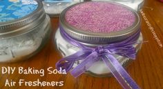 DIY Baking Soda Air Fresheners