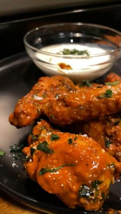 Air Fryer Dinner Recipes, Air Fryer Recipes Easy, Appetizer Recipes, Appetizers, Chicken Wing Recipes, Le Chef, Aesthetic Food, Food Cravings, Diy Food