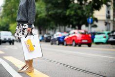 Milan Fashion Week Spring 2015   Street Style   Wmag