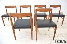 Bramin teak dining chairs - Klein design