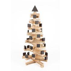 Wooden Design Xmas Tree.
