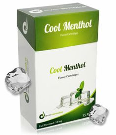 $40, Cool Menthol treats you to a rush of refreshing icy-cool mint.