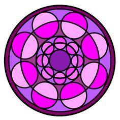Mandalas Ideas: Pink mandals