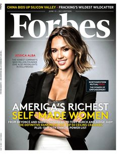 Jessica Alba Is All Business in Sexy Career Outfit on Forbes Cover, Almost Made 50 Richest Self-Made Women List | E! Online Mobile