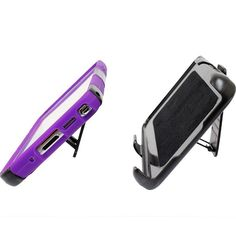 Samsung Galaxy Note 3 My.Carbon 3-in-1 Rugged Case, Black/Purple