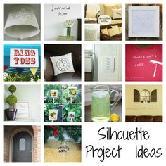 silhouette project ideas!