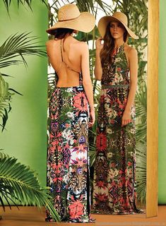 Naima vestidos de moda primavera verano 2015.