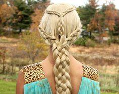 daenerys braids - Google Search