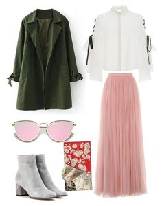 """""""Untitled #2009"""" by filipaloves ❤ liked on Polyvore featuring Jonathan Simkhai, Gianvito Rossi, Little Mistress and Alexander McQueen"""