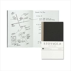 Storage.it Notebook - Mobile Size Refill