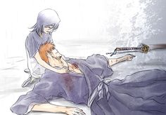 Memories in the Rain Ichigo and Rukia