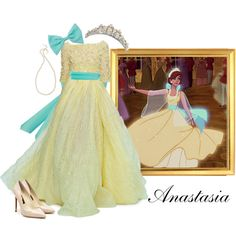 """Anastasia's Vision Dress"" by nightwatchman54 on Polyvore"