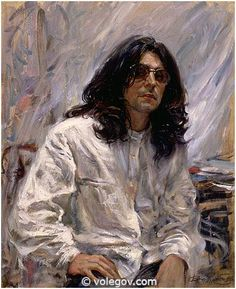 Vladimir Volegov Paintings Gallery | 466. BEAUTY FANTASY, painting, oil on canvas, sold