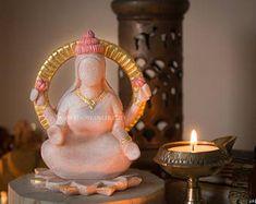 Lakshmi - Goddess of Wealth Shrine Prayer Altar Statue, Mother Goddess, Meditation Space, Mother Mary, Fertility Goddess