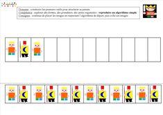 Le tout petit roi : Algorithmes Grand Prince, Dere, Bar Chart, Templates, Education, Château Fort, Albums, France, Carnival