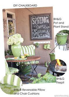 Gorgeous #Porch - Patio Challenge via @Destiny Alfonso #curbappeal