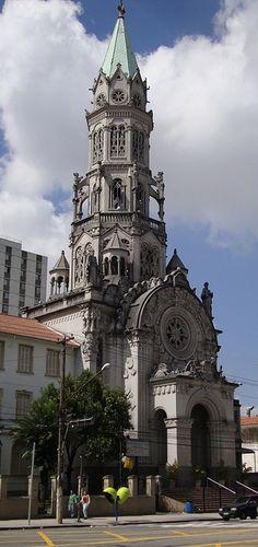 Igreja Nossa Senhora da Saúde, em São Paulo, Brasil