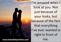 Just Because Of You, Love Wishes, Love Quotes Wallpaper, Love Thoughts, Romantic Pictures, Look At You, Love Messages, Facts, Fictional Characters