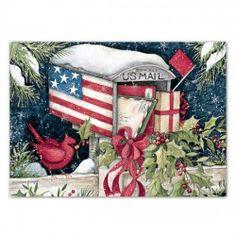 A Patriotic Christmas Christmas Cards , 1004690 | Lang | Holiday ...