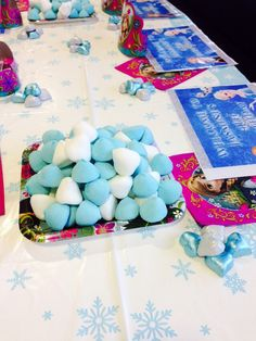 Frozen marshmallows