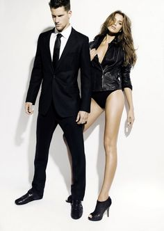 Gorgeous Russian model Irina Shayk worked her luscious charm in a sexy ad campaign for the Spring/Summer 2011 collection of Spanish fashion brand XTI. Working well with Shayk is equally seductive male model Arthur Sales who adds fuel to this fiery shoot.