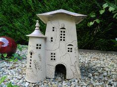 Gartendekoration - Gartenkeramik, Großes Gartenhaus, Gartendeko - ein Designerstück von floramik bei DaWanda