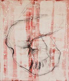 Fermo immagine, acrilico e carboncino su tela