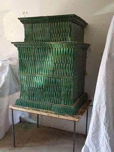 Gmundner Kachelofen ca 150 Jahre alt
