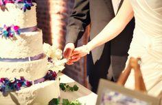 wedding cake, blue, cake, catholic nashville wedding krista lee photography houston station reception, #nashvillewedding, #warmemorial, @Krista McNamara McNamara Newbill