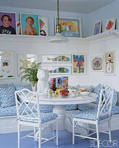 banquette seating for the kitchen