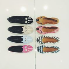 Cats vs. Mice!  Marc by Marc Jacobs ballet flats