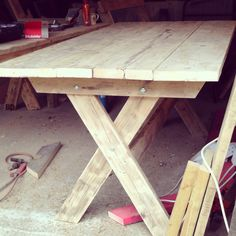 Garden Furniture Made From Scaffolding Planks rustic timber bench - scaffold boards | i can do it ? | pinterest