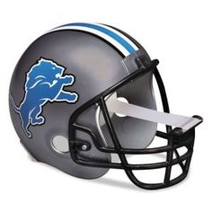 ATTENTION sports fans! Tackle your projects with the help from this Detroit Lions NFL helmet scotch tape dispenser from 3M for your home and office. A great gift idea!