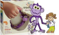 Gripsters Stay Along is a little plastic monkey/ring a child can hold voluntarily to stay with you. Instead of a child leash, it is not attached- it comes with a little story book to explain to the child. Gives them freedom to move around a little while staying close to you.