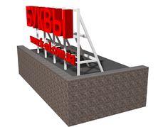Крышные установки «Фабрика рекламы»