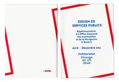 Neo Neo Graphic Design Switzerland - Design de Services Publics