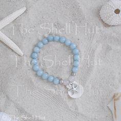 Beach Bracelet Seashell Mermaid Stack Bohemian by shellhut on Etsy
