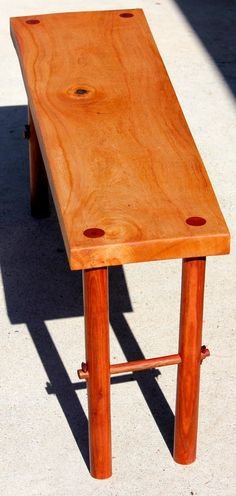 Hand Made Silky Oak and Bloodwood Coffee by WilkesWoodfurniture, $150.00