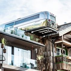 Brand NEW! Hotel EDERSEPP, Maria Alm, Austria A rustic timber-frame building with a surprisingly cool and modern style. The doors are open. Lift Design, Glass Building, Hotel Architecture, The Door Is Open, Hotel S, Restaurant Design, Places To Go, In This Moment, House Styles
