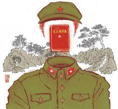 Contemporary Chinese Fiction (NY Times Book Review) by Yuko Shimizu, via Behance