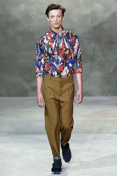 Marni Spring 2016 Great print  Menswear - Collection - Gallery - Style.com