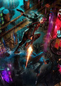 ArtStation – Dogs of War, Randis Albion – Cyberpunk Gallery Ville Cyberpunk, Art Cyberpunk, Cyberpunk Aesthetic, Neon Aesthetic, Cyberpunk Fashion, Art Science Fiction, Space Warriors, Space Opera, Futuristic Art