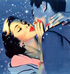 Illustration by Jon Whitcomb for the story Wedding In The Spring
