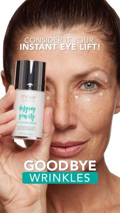 Just launched! Shop Defying Gravity Eye Lifting Cream™ Now! Black Spots On Face, Brown Spots On Hands, Dark Spots, Liver Spots On Hands, Eye Lift, Under Eye Bags, Natural Exfoliant, Defying Gravity, Skin Rash