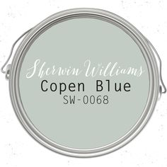 Copen Blue paint color SW 0068 by Sherwin-Williams. See how this color… Blue Paint Colors, Favorite Paint Colors, Kitchen Paint Colors, Interior Paint Colors, Paint Colors For Home, Room Colors, Wall Colors, House Colors, Paint Colors Master Bedroom