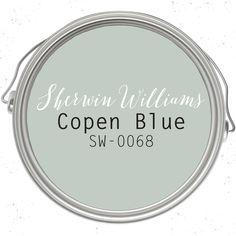 Copen Blue paint color SW 0068 by Sherwin-Williams. See how this color… Blue Paint Colors, Favorite Paint Colors, Interior Paint Colors, Paint Colors For Home, Room Colors, House Colors, Paint Colors Master Bedroom, Furniture Paint Colors, Hallway Paint Colors