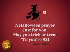 A Halloween prayer... A Halloween poem