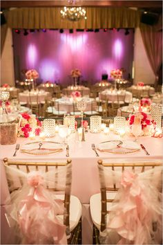 pink sweetheart table ideas @weddingchicks