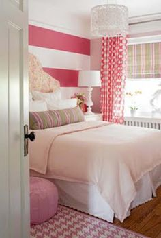 Teen Girl Bedrooms dazzling examples, decor plan note 5009630346 - A devine resource on decor examples to organize a stunning and really cooooool teen girl room. This relaxing bedroom ideas for teen girls dream rooms image pinned on this fun day 20181226 Dream Rooms, Dream Bedroom, Home Bedroom, Bedroom Decor, Bedroom Ideas, Bedroom Designs, Teen Bedroom, Pretty Bedroom, Coral Bedroom