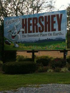 Hershey, PA in Pennsylvania